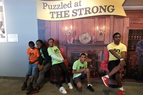 Southside Family Resource Center kids visit the Strong Museum of Play