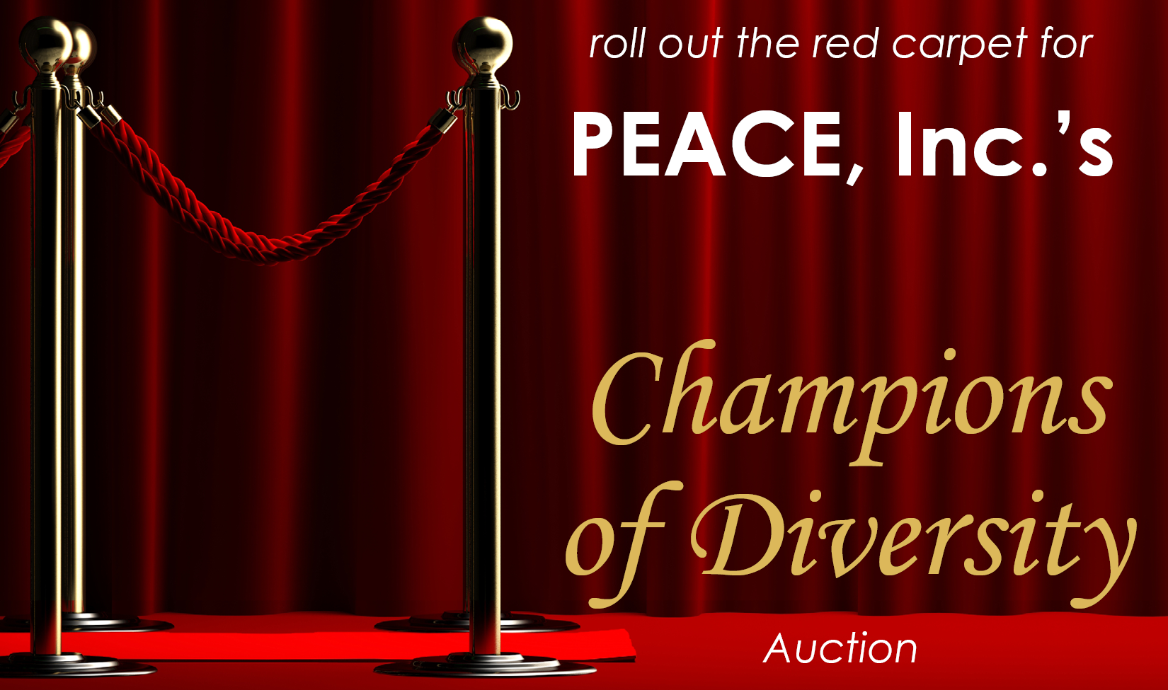 Champions of Diversity Online Auction
