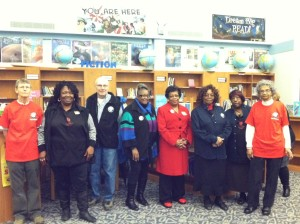 Experienced Foster Grandparents gathered to celebrate the expansion at an  event at McKinley-Brighton Elementary in November.